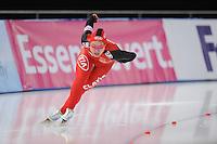 SCHAATSEN: BERLIJN: Sportforum, 06-12-2013, Essent ISU World Cup, 500m Ladies Division B, Shuang Zhang (CHN), ©foto Martin de Jong