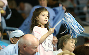 Young fan shows her support