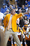 Tennessee Head Coach Bruce Pearl during the first half of the University of Kentucky Men's basketball game against Tennessee at Rupp Arena in Lexington, Ky., on 2/8/11. Uk led at half 35-28. Photo by Mike Weaver | Staff