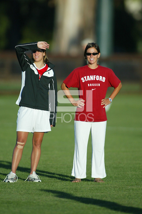 22 August 2005: Sarah Kate Noftsinger during a scrimmage against UC Davis at Maloney Field in Stanford, CA.