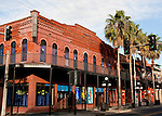 The Simovitz building in Ybor City, Tampa, Florida, USA.