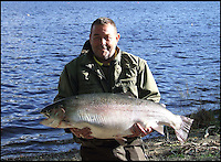 Record Trout caught in Scotland.