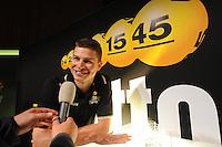 SCHAATSEN: UTRECHT: 23-10-2014, TivoliVredenburg, Perspresentatie Team LottoNL - Jumbo, Sven Kramer, ©foto Martin de Jong