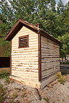 Outhouse at the Rio Grande Railroad Depot