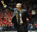 Mississippi head basketball coach Andy Kennedy yells instructions vs. Mississippi State at the C.M. &quot;Tad&quot; Smith Coliseum in Oxford, Miss. on Wednesday, January 18, 2012. Mississippi won 75-68. (AP Photo/Oxford Eagle, Bruce Newman).