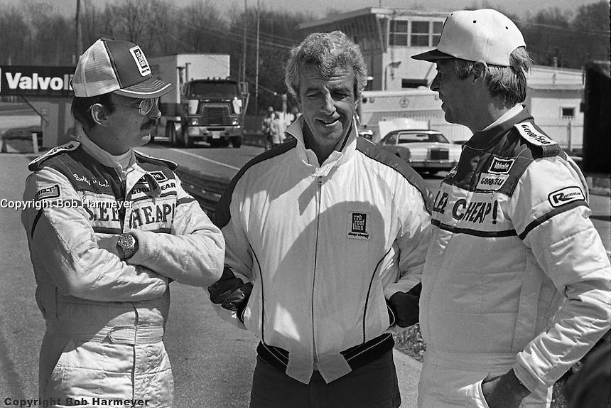 Mid Ohio Sportscar Course >> Bobby Rahal, Jim Trueman and George Plimpton at Mid-Ohio Sports Car Course.   Bob Harmeyer