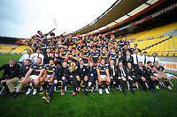 161014 Mitre 10 Cup Rugby - 2016 Wellington Lions Team Photo