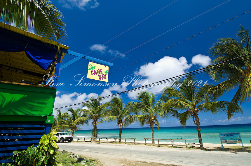 The beach bar at Cane Bay<br /> St. Croix, U.S. Virgin Islands