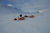 Tenting in Sarek,Sweden