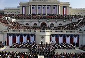 Washington, DC - January 20, 2009 -- The Inauguration of President Barack Obama on Tuesday, January 20, 2009, at the United States Capitol in Washington, DC. .Credit: Scott Andrews - Pool via CNP