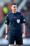 Hearts v St Johnstone&hellip;19.03.16  Tynecastle, Edinburgh<br />Referee Craig Thomson<br />Picture by Graeme Hart.<br />Copyright Perthshire Picture Agency<br />Tel: 01738 623350  Mobile: 07990 594431