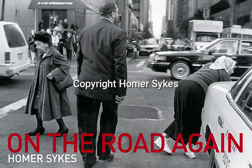 On the Road Again. Published by Mansion Editions...I have a few new copies left.<br /> <br /> Images taken in 1969, 1971, 1999, and 2001. Across the USA by Greyhound Bus. <br /> <br /> &pound;20.00 + &pound;2.50 p&amp;p in the UK.<br /> Ask for $ price.
