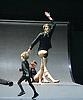 Boris Charmatz / Musee de la danse <br /> <br /> enfant <br /> <br /> <br /> at Sadler's Wells, London, Great Britain <br /> press photocall / rehearsal <br /> 28th January 2014 <br /> <br /> <br /> Erwan Keravec - bagpipes <br /> <br /> <br /> adults <br /> <br /> <br /> Nuno Bizarro<br /> Olga Dukhovnaya <br /> Julien Gallee-Ferre<br /> Peggy Grelat-Dupont<br /> Julien Jeanne<br /> Lenio Kaklea<br /> Maud Le Pladec<br /> Thierry Micouin <br /> Mani A Mungai <br /> <br /> <br /> children <br /> <br /> Imane Alguimaret <br /> Evan Aulnette<br /> Emi Boudan<br /> Tikal Contant-Ricard<br /> Ulysse Doni <br /> Kazmir Fischbeck<br /> Atika Heit <br /> Lune Guidoni<br /> Gaspard Gitton <br /> Louane Mogis<br /> Rosa Morel-Flouzat <br /> Violette Rakotoarinohatra<br /> Zacharie Roucher-Sicard<br /> Youna Visioli <br /> <br /> <br /> <br /> Photograph by Elliott Franks