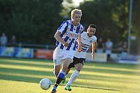 VOETBAL: AKKRUM: 11-07-2014, Oefenduel SC Heerenveen - Telstar, de Noor Morten Thorsby, ©foto Martin de Jong