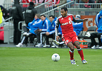 24 March 2012: Toronto FC midfielder Julian de Guzman #6 in action during a game between the San Jose Earthquakes and Toronto FC at BMO Field in Toronto..The San Jose Earthquakes won 3-0..