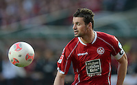 FUSSBALL 1. BUNDESLIGA   SAISON   2012/2013: RELEGATION   RUECKSPIEL 1. FC Kaiserslautern - TSG 1899 Hoffenheim         27.05.2013 Albert Bunjaku (1. FC Kaiserslautern)  Einzelaktion am Ball