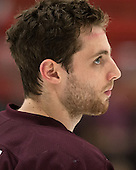 Thomas Larkin (Colgate - 27) - The Harvard University Crimson defeated the Colgate University Raiders 4-1 (EN) on Friday, February 15, 2013, at the Bright Hockey Center in Cambridge, Massachusetts.
