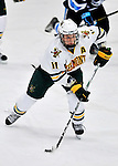 2 December 2011: University of Vermont Catamount forward H.T. Lenz, a Sophomore from Vienna, VA, in action against the University of Maine Black Bears at Gutterson Fieldhouse in Burlington, Vermont. The Catamounts fell to the Black Bears 6-4 in the first game of their 2-game Hockey East weekend series. Mandatory Credit: Ed Wolfstein Photo