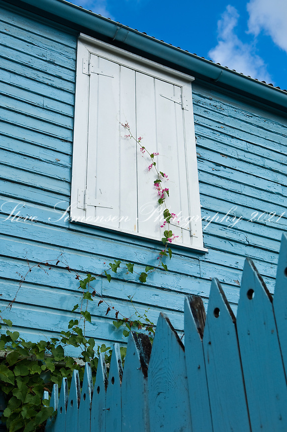 Historic buildings in Frederiksted, <br /> St. Croix, US Virgin Islands