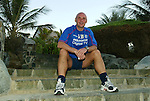 Assistant manager Andy Watson relaxes at Rangers plush hotel in Dubai as Rangers enjoy a winter break in early 2003