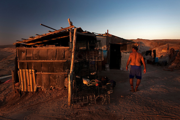 Desert Fishing Village. Baja California Sur, Mexico