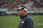 Ole Miss Coach Hugh Freeze vs. Georgia at Sanford Stadium in Athens, Ga. on Saturday, November 3, 2012. Georgia won 37-10.