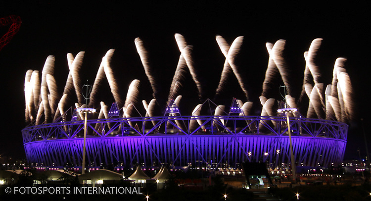 Paralympics London 2012 - ParalympicsGB - Opening Fireworks Ceremony held at the Stadium 29th August 2012<br /> Photo: Richard Washbrooke/ParalympicsGB