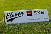 Logo of tournament at Anze's Eleven and SKB Charity Golf Tournament, on June 11, 2011 in Golf court Bled, Slovenia. (Photo by Matic Klansek Velej / Sportida)