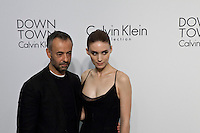 Actress Rooney Mara and Francisco Costa Attend the Calvin Klein Collection post show event at Spring Studios on September 12, 2013 New York by VIEWpress