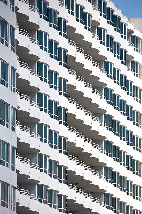Fontainebleau Hotel extension Miami Beach Architect Herbert Mathes 1958