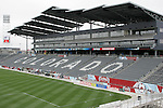 6 April 2007: The stadium at Dick's Sporting Goods Park in Denver, Colorado is ready for the season opener between DC United and the Colorado Rapids to be played Saturday, April 7.