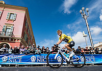 Picture by Alex Broadway/SWpix.com - 12/03/17 - Cycling - 2017 Paris Nice - Stage Eight - Nice to Nice - Sergio Henao of Team Sky during rider sign on.