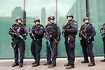 New York Police Department Training Program deploys at Lincoln Center on March 3, 2010 in NYC