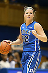 27 October 2013: Tricia Liston. The Duke University Blue Devils played their annual preseason Blue White women's college basketball game at Cameron Indoor Stadium in Durham, North Carolina.