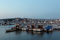 The harbour at Canakkale, on the southern (Asian) coast of the Dardanelles, Turkey. Picture by Manuel Cohen