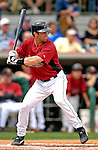 16 March 2007: Houston Astros catcher Brad Ausmus in action against the New York Yankees at Osceola County Stadium in Kissimmee, Florida...Mandatory Photo Credit: Ed Wolfstein Photo