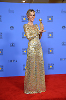 Sarah Paulson at the 74th Golden Globe Awards  at The Beverly Hilton Hotel, Los Angeles USA 8th January  2017<br /> Picture: Paul Smith/Featureflash/SilverHub 0208 004 5359 sales@silverhubmedia.com
