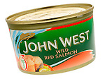 Tin of John West Wild Red Salmon - Jan 2010
