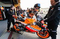 Marc Marquez ready to test his new MotoGP machine