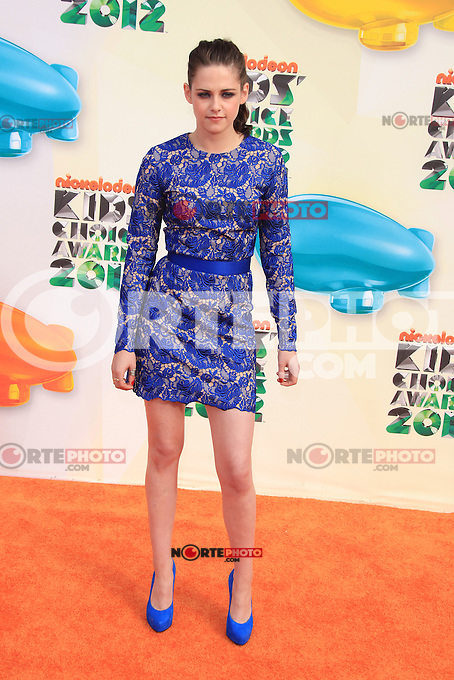 Kristen Stewart at Nickelodeon's 25th Annual Kids' Choice Awards at The Galen Center on March 31, 2012 in Los Angeles, California. © mpi26/MediaPunch Inc.