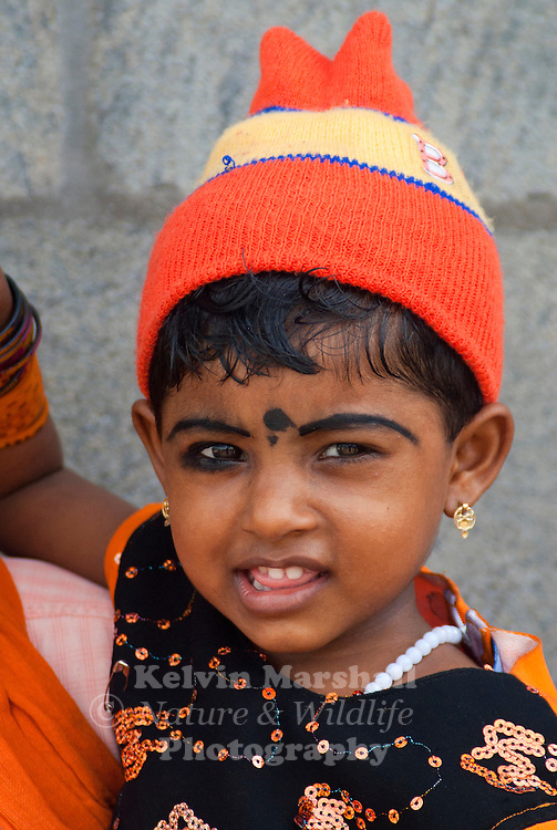 Young Indian Girl Baby