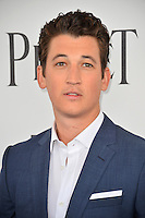 Miles Teller at the 2017 Film Independent Spirit Awards on the beach in Santa Monica, CA, USA 25 February  2017<br /> Picture: Paul Smith/Featureflash/SilverHub 0208 004 5359 sales@silverhubmedia.com