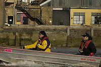 PUTNEY, LONDON, ENGLAND, 19.03.2006, Pre 2006 Boat Race Fixture, Oxford UBC vs  Imperial BC. over the Championship Course, from Putney to Mortlake.   © Peter Spurrier/Intersport-images.com.Oxford, Cox: Sebastian (Seb) Pearce, Paul Daniels, Robin Esjmond-Frey, Tom Parker, Bastien Ripoll, James (Jamie) Schroeder , Colin Smith , Jacob (Jake) Wetzel, Barney Williams...Imperial, Cox: Abbie Stephenson, Carlo Mornati, Leonardo Raffaello, Dario Dentale, Mario Palmisano, Elia Luini, Pierpaolo Frattini, Niccolo Mornati, Lorenzo Porzio-Bow...[Mandatory Credit Peter Spurrier/ Intersport Images][Mandatory Credit Peter Spurrier/ Intersport Images] Varsity Boat Race, Rowing Course: River Thames, Championship course, Putney to Mortlake 4.25 Miles