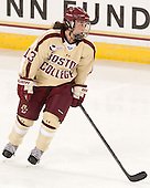 Haley McLean (BC - 13) - The Boston College Eagles defeated the visiting University of Maine Black Bears 5 to 1 on Sunday, October 6, 2013, in their Hockey East season opener at Kelley Rink in Conte Forum in Chestnut Hill, Massachusetts.