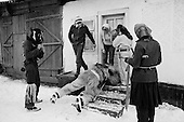 Maramures, Romania<br /> December 31, 1991<br /> <br /> New Years eve ritual.