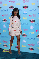 LOS ANGELES - AUG 11:  Kerry Washington at the 2013 Teen Choice Awards at the Gibson Ampitheater Universal on August 11, 2013 in Los Angeles, CA