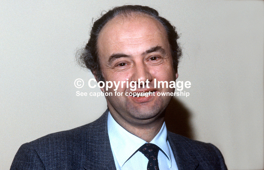 John Fisher, secretary, Standing Advisory Commission on Human Rights, N Ireland. 19840158JF1..Copyright Image from Victor Patterson, 54 Dorchester Park, Belfast, UK, BT9 6RJ..Tel: +44 28 9066 1296.Mob: +44 7802 353836.Voicemail +44 20 8816 7153.Skype: victorpattersonbelfast.Email: victorpatterson@me.com.Email: victorpatterson@ireland.com (back-up)..IMPORTANT: If you wish to use this image or any other of my images please go to www.victorpatterson.com and click on the Terms & Conditions. Then contact me by email or phone with the reference number(s) of the image(s) concerned.
