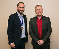 NCBC Club President James Simmonds (left) and guest speaker Daniel Hill of Pulse Property Network