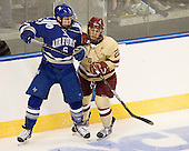 Adam McKenzie (Air Force - 6), Steven Whitney (BC - 21) - The Boston College Eagles defeated the Air Force Academy Falcons 2-0 in their NCAA Northeast Regional semi-final matchup on Saturday, March 24, 2012, at the DCU Center in Worcester, Massachusetts.
