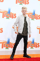 WESTWOOD, CA - OCTOBER 23: Carson Lueders at the premiere Of 20th Century Fox's 'Trolls' at Regency Village Theatre on October 23, 2016 in Westwood, California. Credit: David Edwards/MediaPunch
